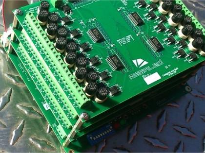 multi channel led control system DMX 75 channels
