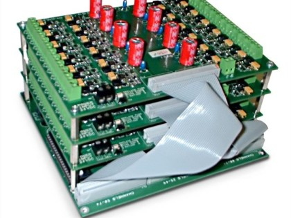 multi channel led controller for voltage leds 75 channel stack