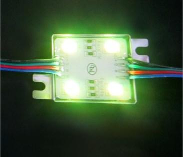 RGB 4 led sign lighting module
