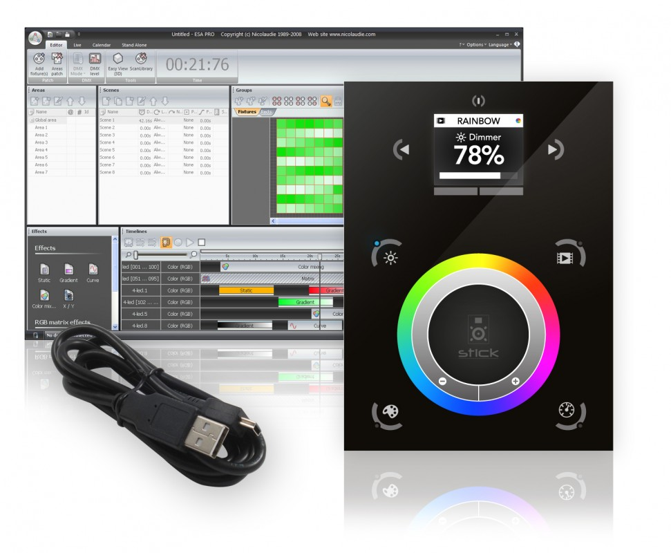 Programmable DMX Controllers