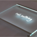 Illuminated Glass Signs MegaLED Illuminated glass signs specialists London UK