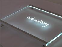 Edge lit Signs   Edge Lit Signage   Glass & Acrylic   MegaLED