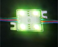 RGB 4 led sign lighting module