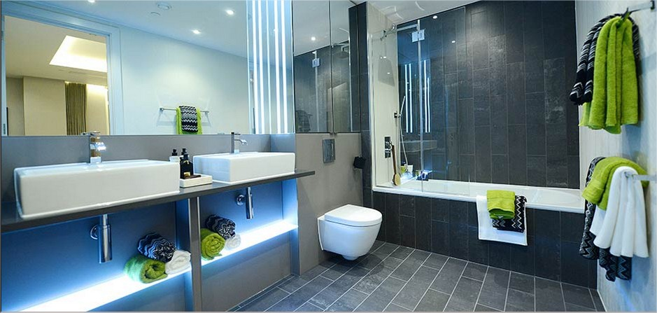 Design of Bathroom Lighting Schemes