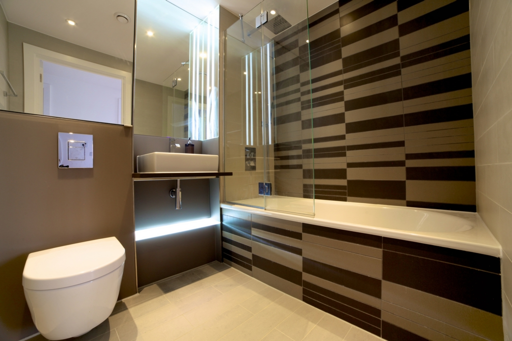 Bathroom led lighting schemes led aloadofball Image collections