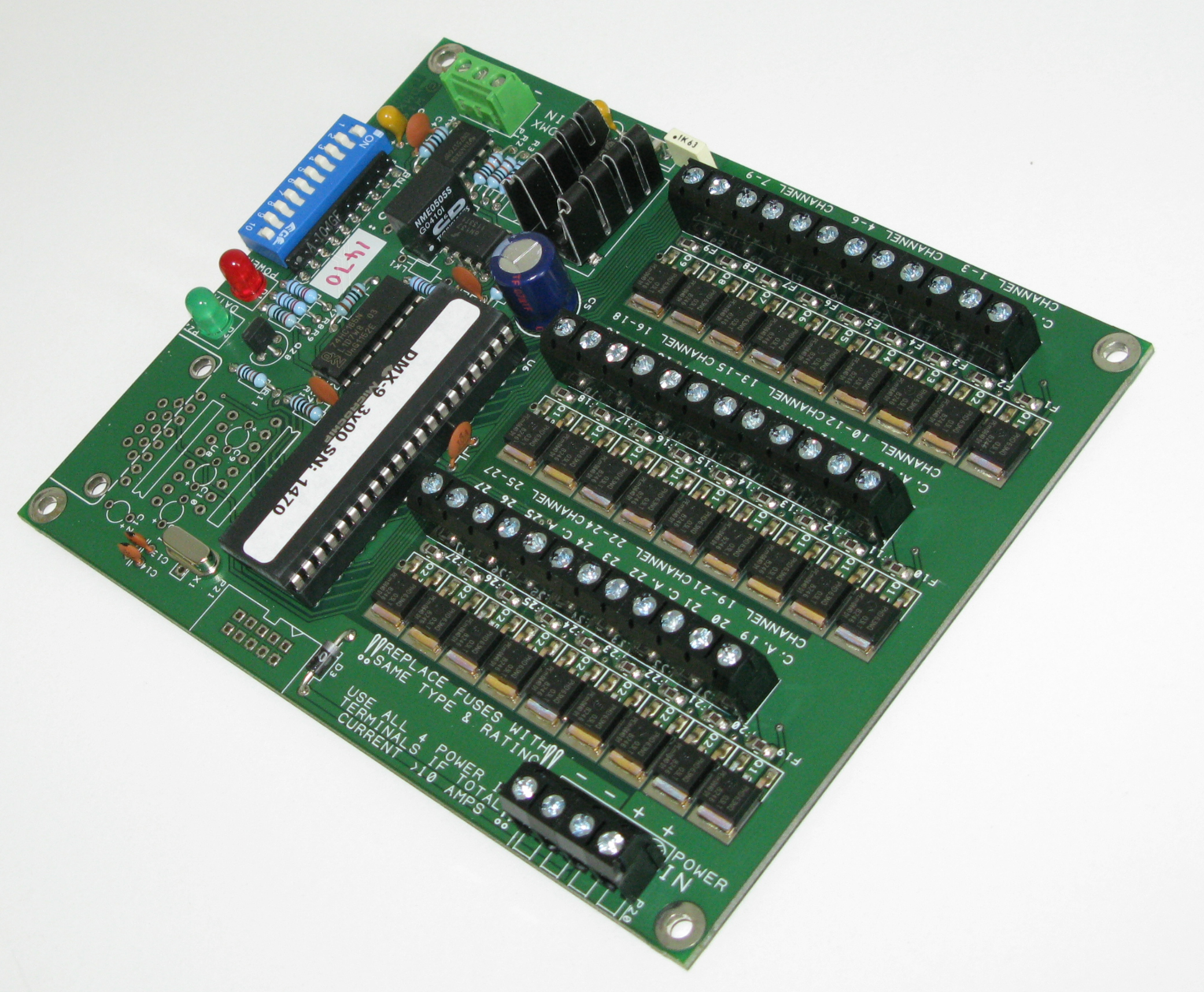 DMX LED Controller Cards